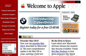 Apple Computer's website in 1987 was 'da bomb' ... remember that superbowl ad?