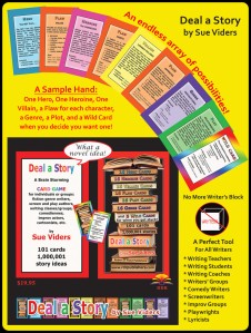 Deal-A-Story cards by Sue Vidders.  Offered for sale online at RDRPublishers.com new web presence.